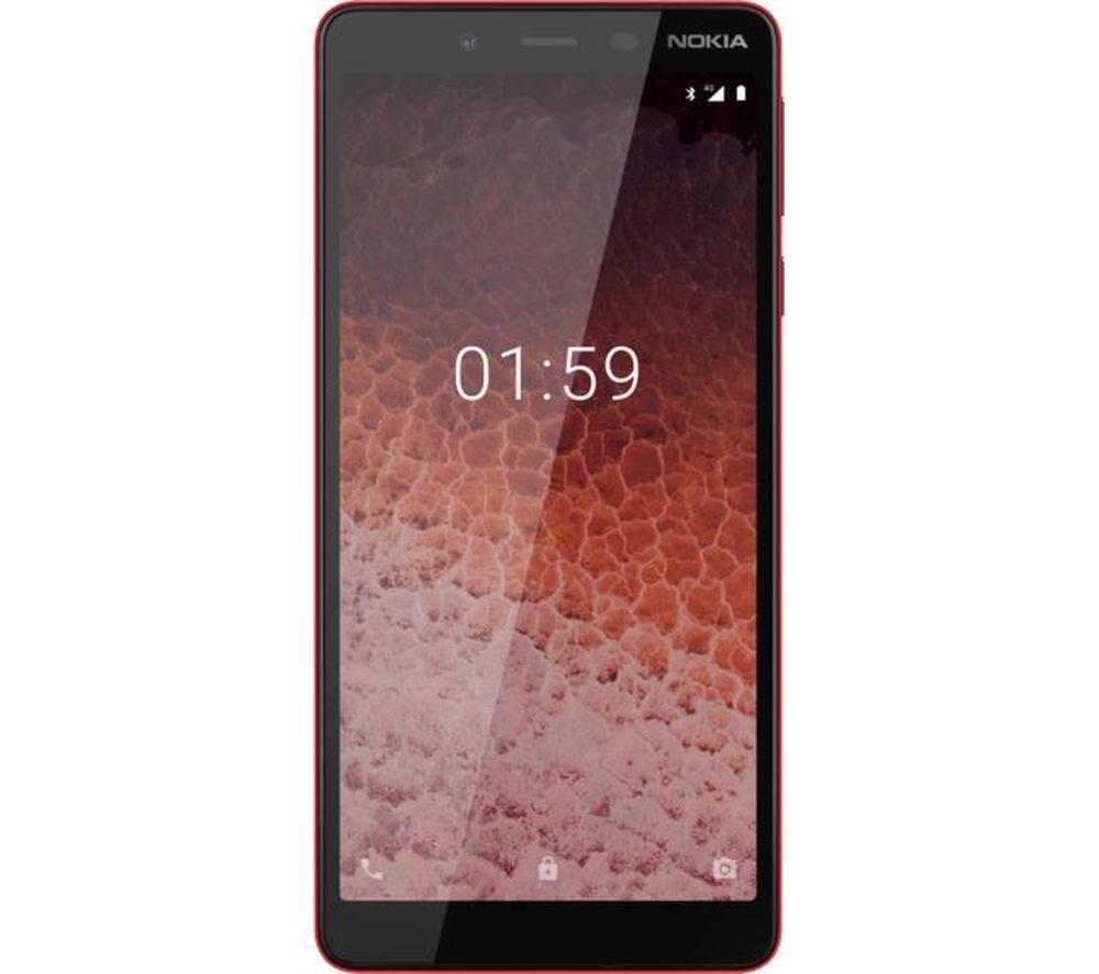 NOKIA 1 Plus - 8 GB, Red