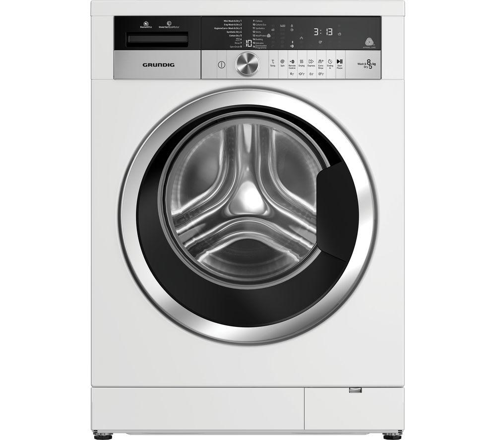 GWD38400CW Bluetooth 8 kg Washer Dryer - White