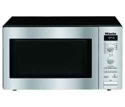 MIELE M6012SC Compact Microwave with Grill - Steel