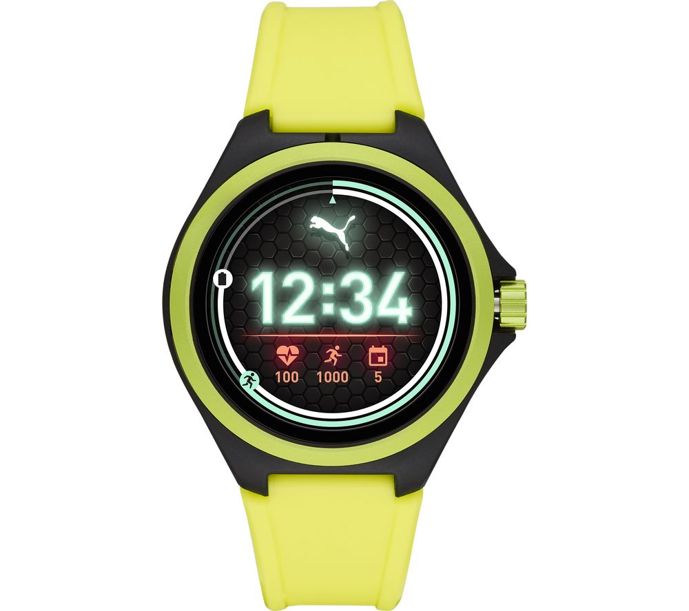 PUMA PT9101 Smartwatch - Yellow, Universal