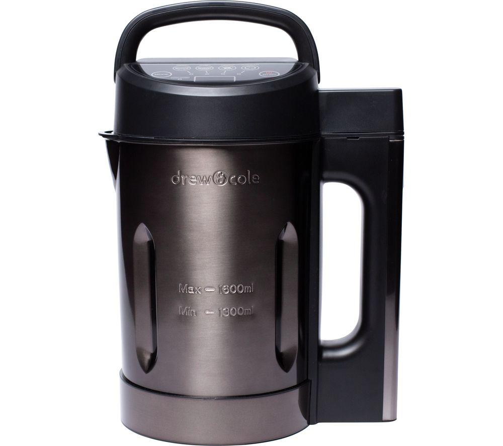 DREW & COLE DREW & COLE Soup Maker - Charcoal & Black, Charcoal