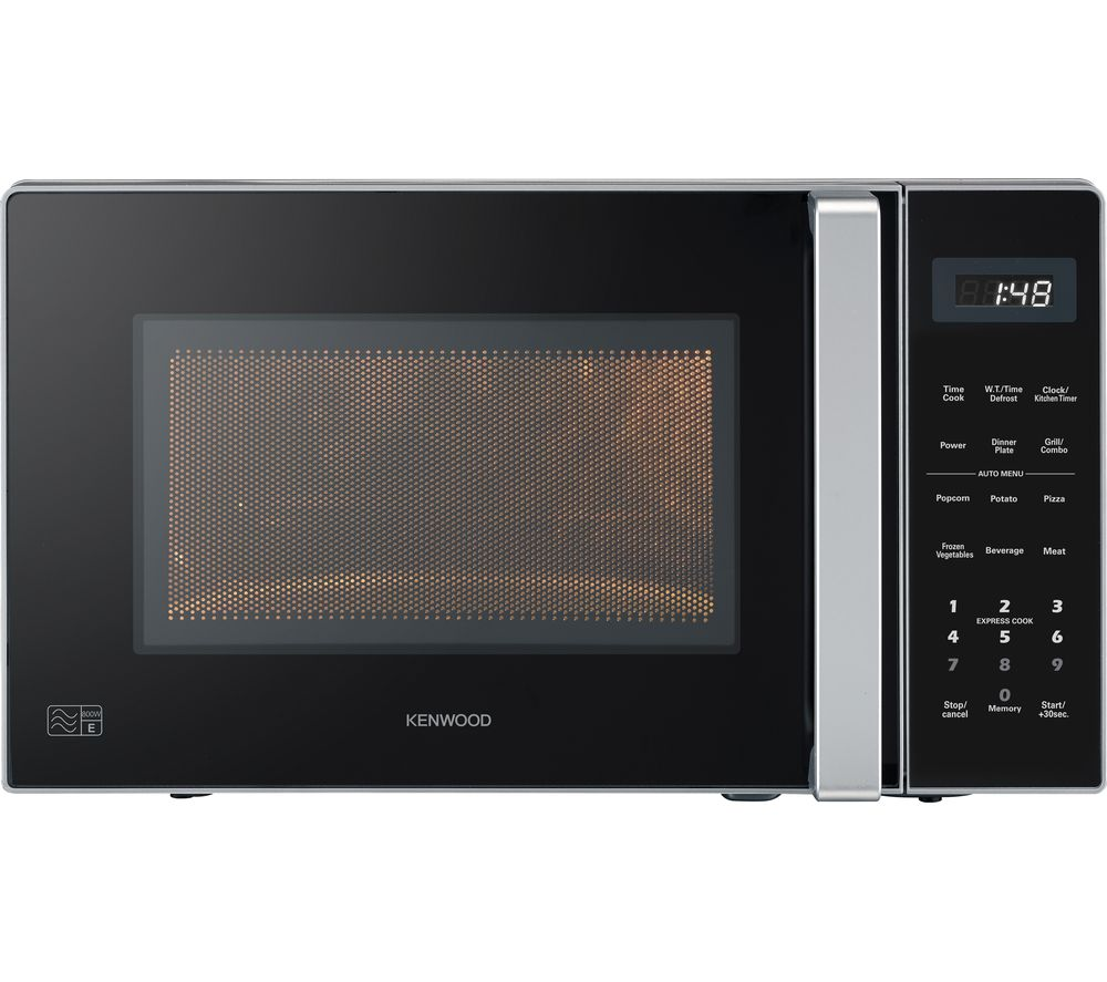 KENWOOD K20GS20 Microwave with Grill - Silver