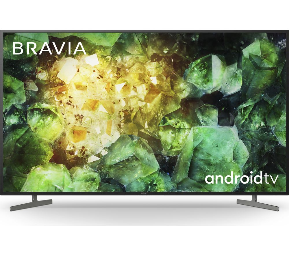 "Image of 49"" SONY BRAVIA KD49XH8196BU Smart 4K Ultra HD HDR LED TV with Google Assistant, Green"