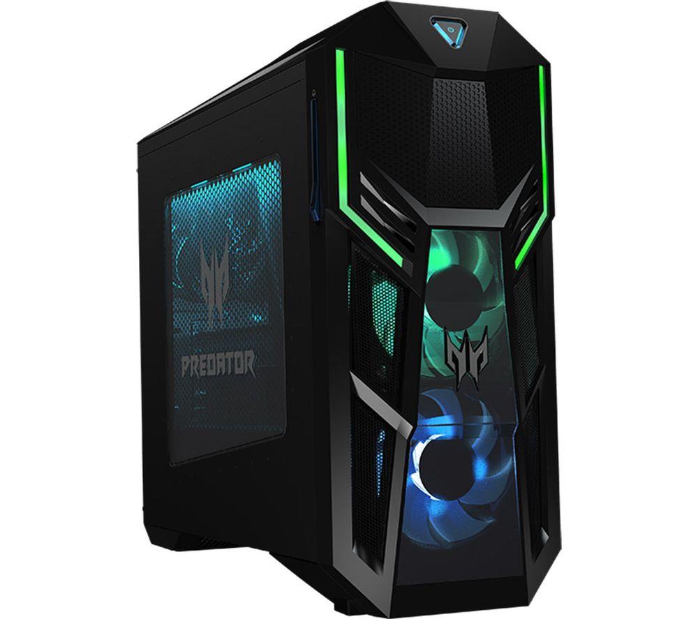 ACER Predator PO5-600s Gaming PC - Intel\u0026regCore i7, RTX 2060 Super, 1 TB HDD & 512 GB SSD