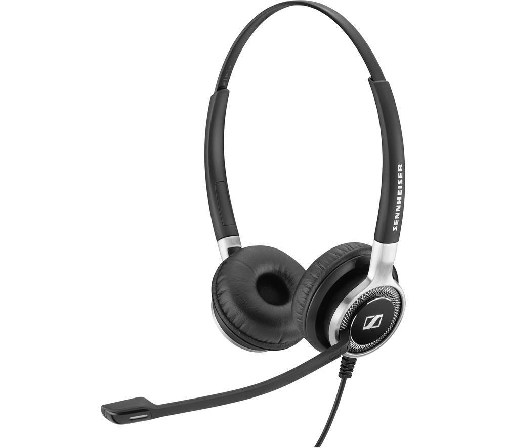 Image of SENNHEISER Century SC 660 ANC USB Headset - Black, Black