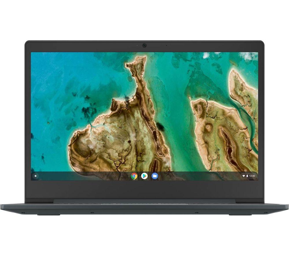 "Image of LENOVO IdeaPad 3i 14"" Chromebook - Intel®Celeron, 64 GB eMMC, Blue, Blue"