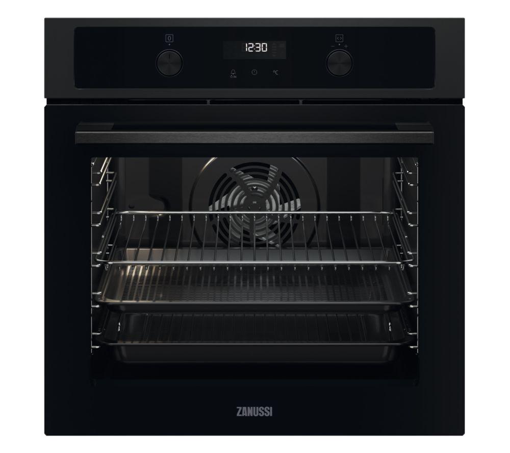 ZANUSSI AirFry ZOHNA7K1 Electric Oven - Black, Black