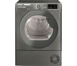 Link X Care HLX C10DRGR WiFi-enabled 10 kg Condenser Tumble Dryer - Graphite