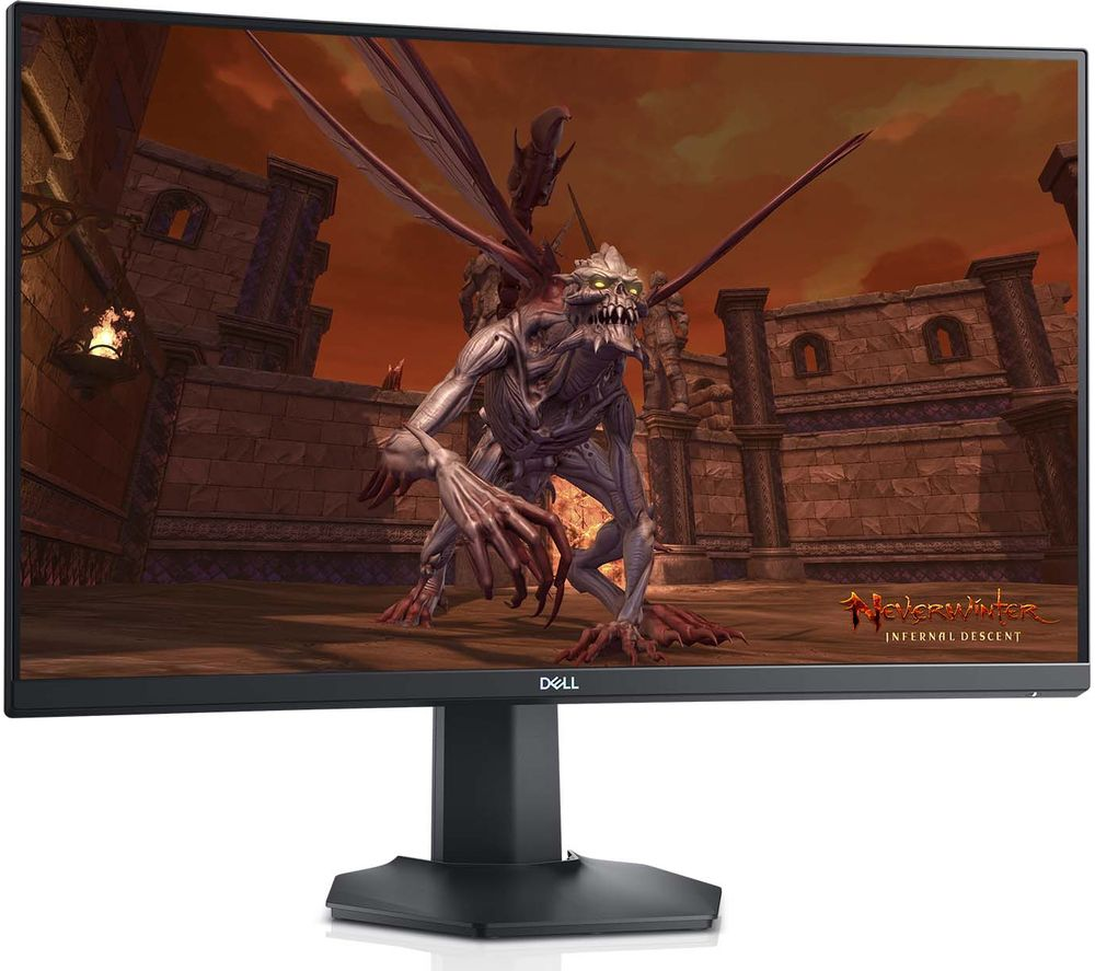"DELL S2721HGF Full HD 27"" Curved LCD Gaming Monitor - Black"