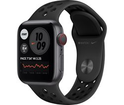 Watch Series 6 Cellular - Space Grey Aluminum with Black Nike Sports Band, 40 mm