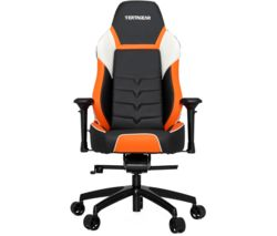 P-LINE PL6000 Gaming Chair - Black & Orange