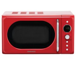 SDA2086GE Solo Microwave - Red
