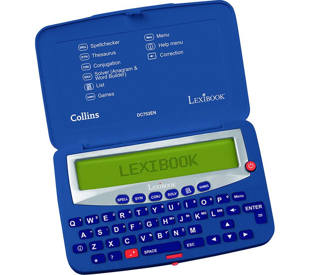 LEXIBOOK Collins Electronic Pocket Spellchecker