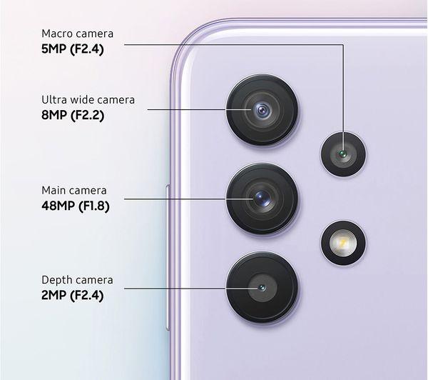 Samsung Galaxy A32 5G - 64 GB, Awesome Violet 4