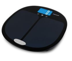Curve 9192 BK3R Bathroom Scales - Black