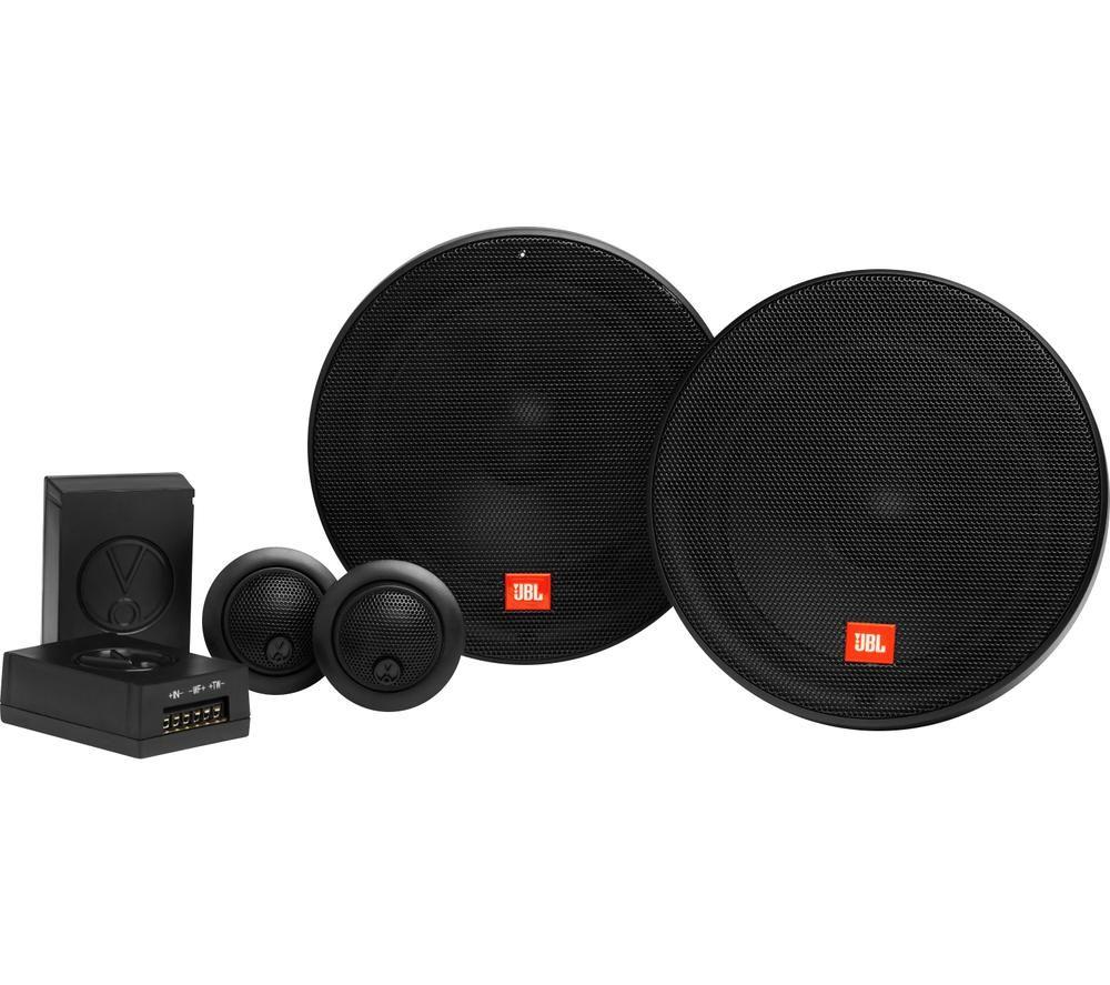 JBL Stage2 604C Car Speakers - Black, Black