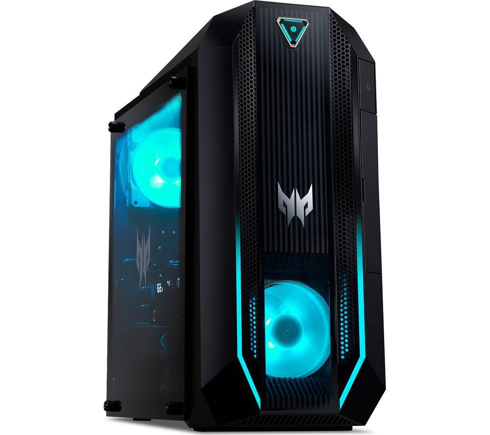 ACER Predator Orion 3000 PO3-630 Gaming PC - Intel® Core™ i7, RTX 3060, 1 TB HDD & 512 GB SSD