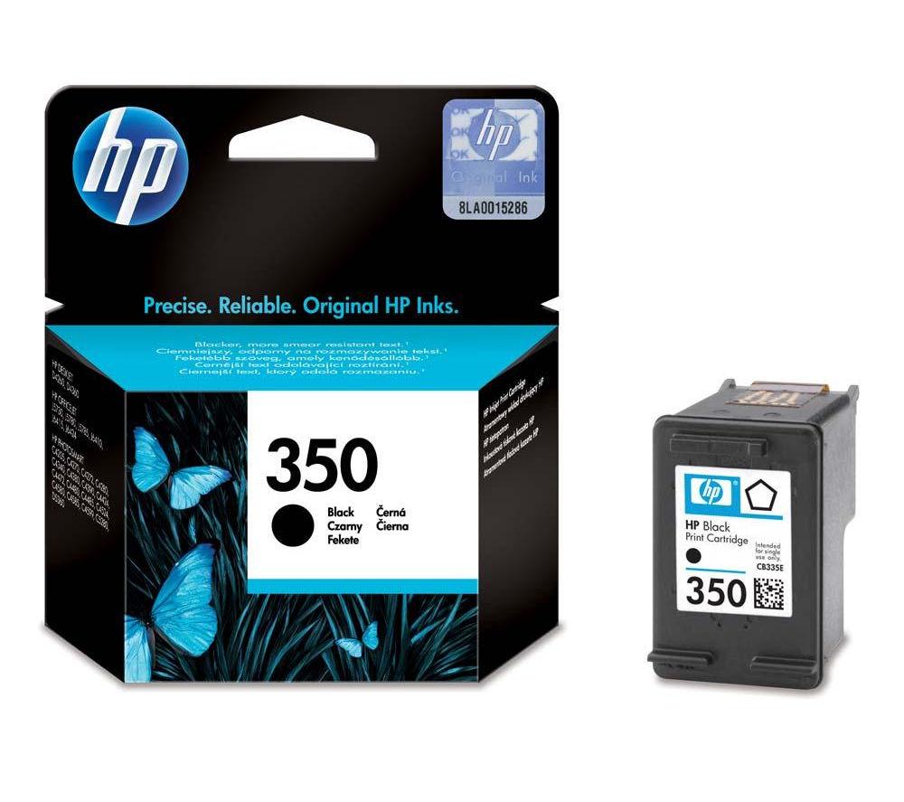 HP 350 Black Ink Cartridge