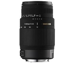 SIGMA 70-300 mm f/4-5.6 DG Macro Telephoto Zoom Lens - for Canon