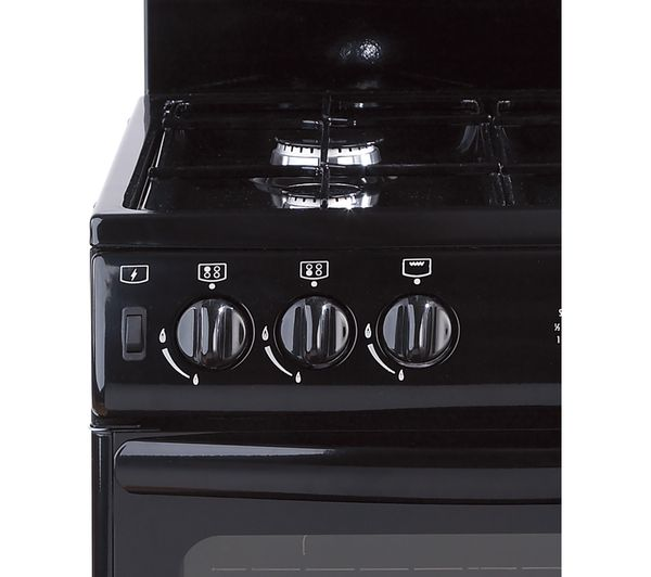 Buy New World 55thlg Gas Cooker Black Free Delivery