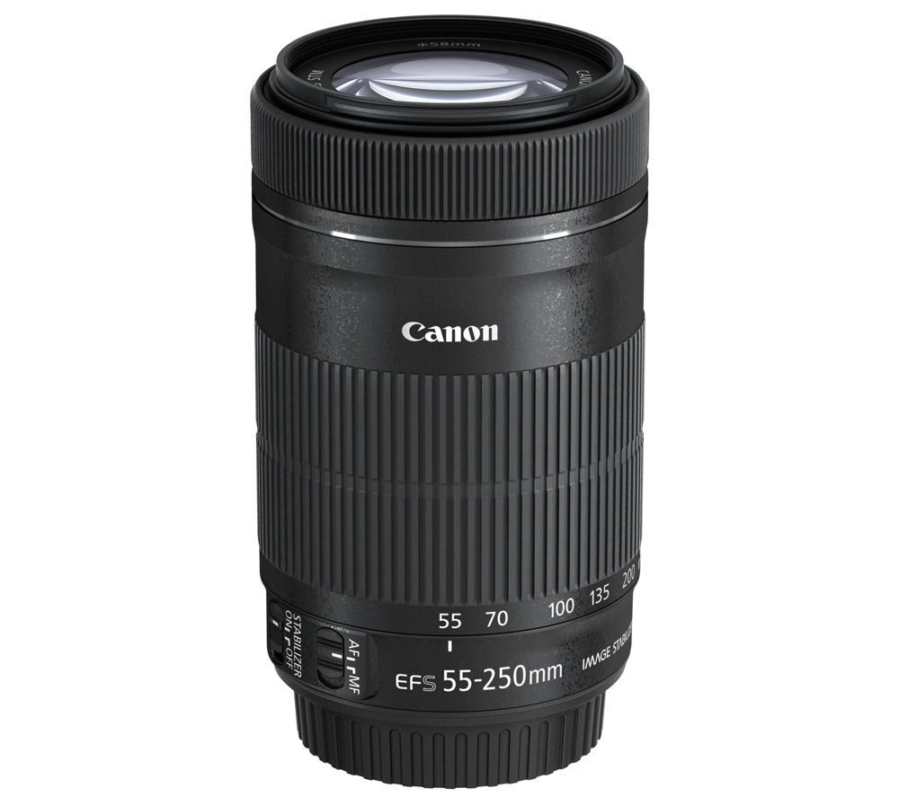 Compare cheap offers & prices of Canon EF-S 55-250 mm f-4-5.6 STM IS Telephoto Zoom Lens manufactured by Canon