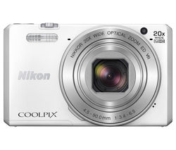 NIKON COOLPIX S7000 Superzoom Compact Camera - White