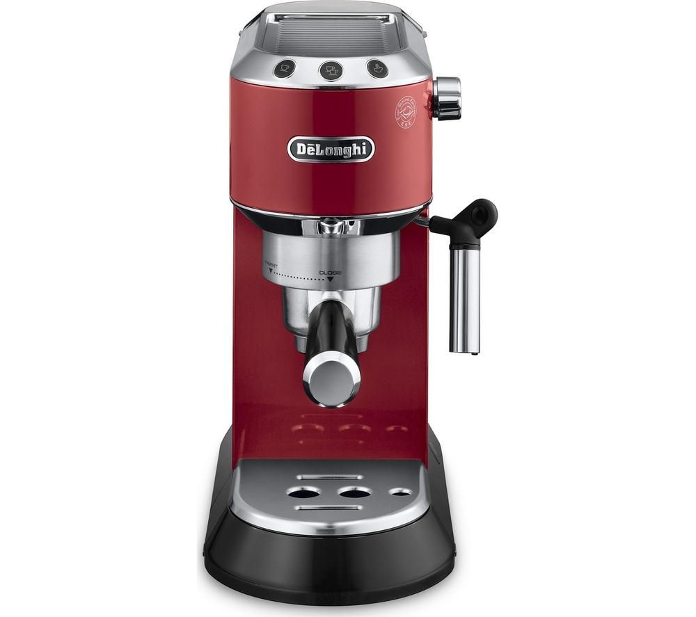 Kitchen Appliance Accessories: Buy DELONGHI Dedica EC680R Coffee Machine - Red