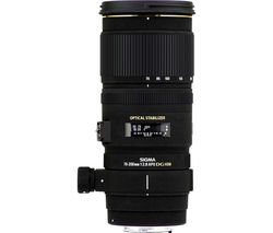 SIGMA 70-200 mm f/2.8 EX DG OS HSM Telephoto Zoom Lens - for Canon