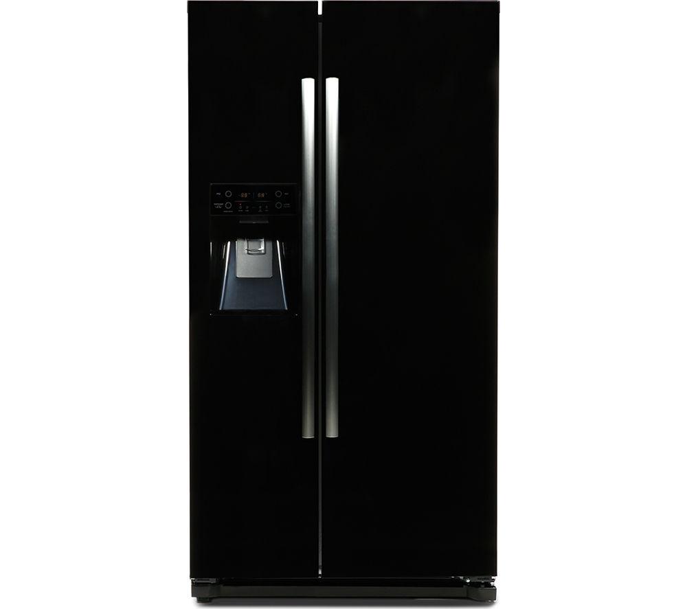 DAEWOO DRQ29DEB American-Style Fridge Freezer - Black