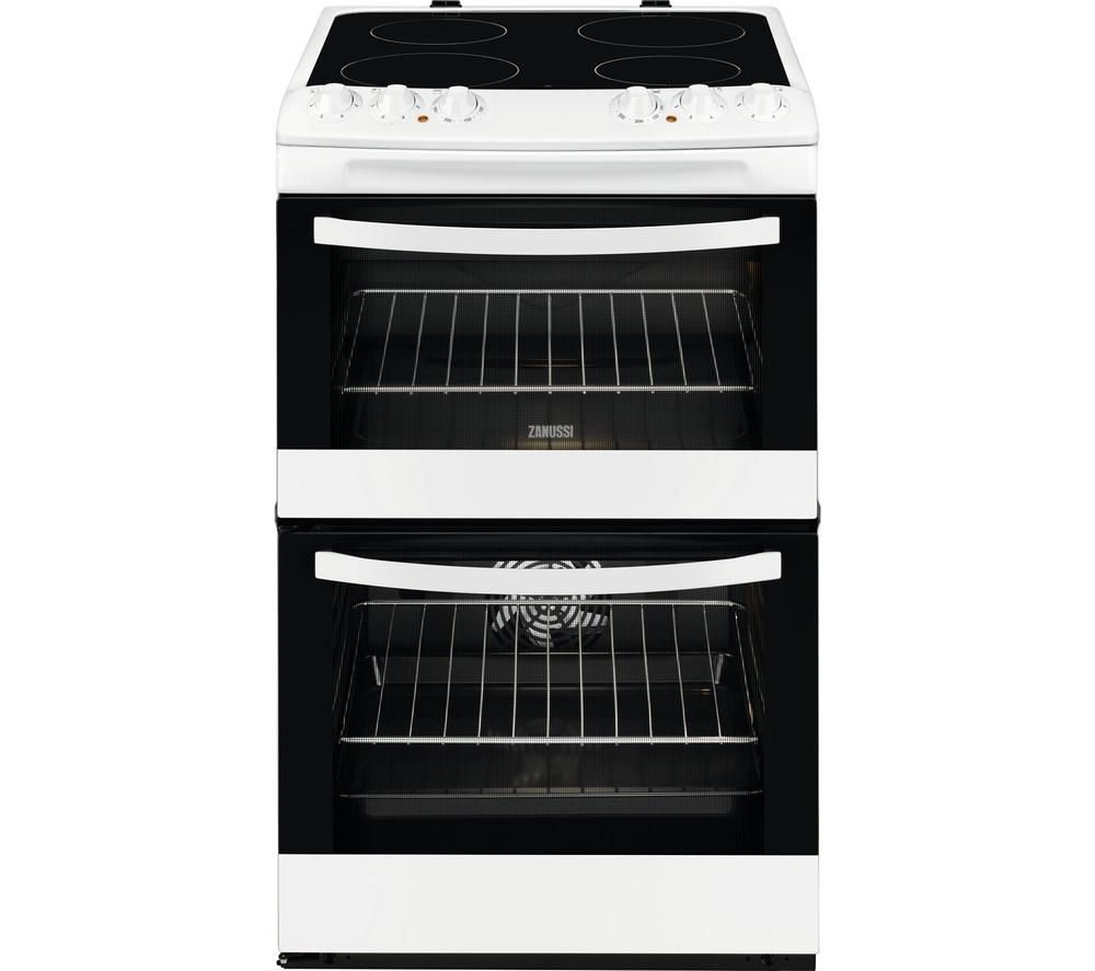 ZANUSSI ZCV46000WA 55 cm Electric Cooker - White