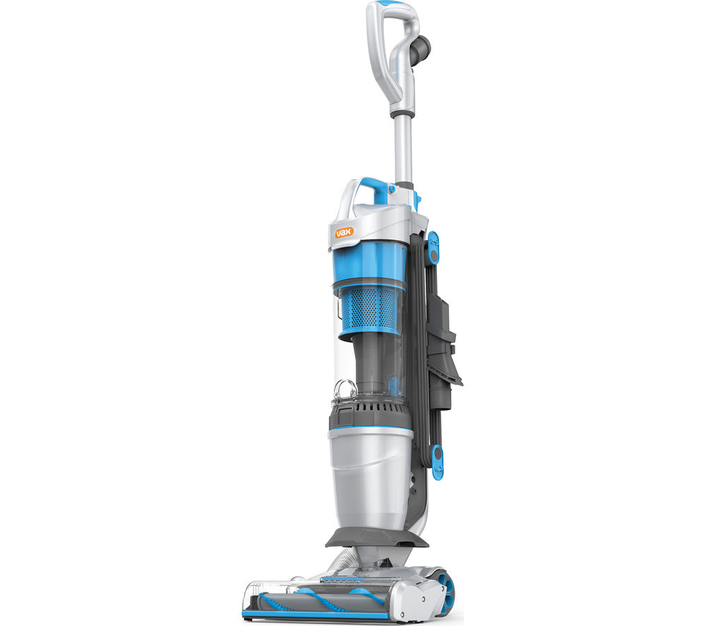 VAX Air Lift Steerable Pets U84-AL-Pe Upright Bagless Vacuum Cleaner - Blue & Silver