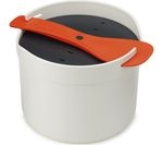 JOSEPH JOSEPH M-Cuisine Microwave Rice Cooker - Stone & Orange