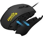ROCCAT Kiro Optical Gaming Mouse - Black