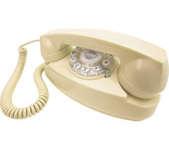 Image of WILD & WOLF Princess Corded Phone - Cream