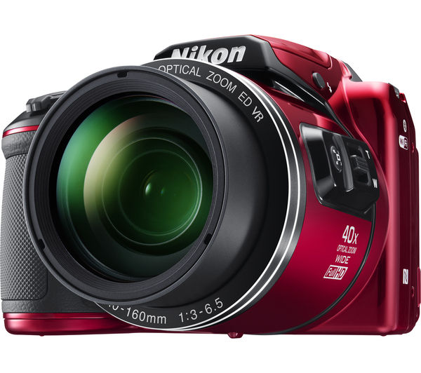 Buy NIKON COOLPIX B500 Bridge Camera Red SCCSC16 Mirrorless