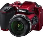 NIKON COOLPIX B500 Bridge Camera - Red