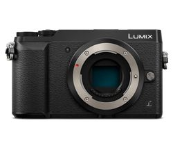 PANASONIC DMC-GX80EB-K Mirrorless Camera - Black, Body Only