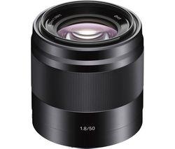 E 50 mm f/1.8 OSS Standard Prime Lens - Black