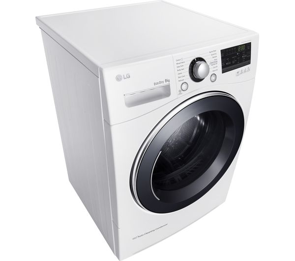 Lg Dryer Manufacture ~ Buy lg rc ah m heat pump tumble dryer white free