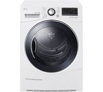 LG RC8055AH3M Heat Pump Tumble Dryer - White