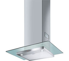 SMEG KFV62DE Chimney Cooker Hood - Stainless Steel & Glass