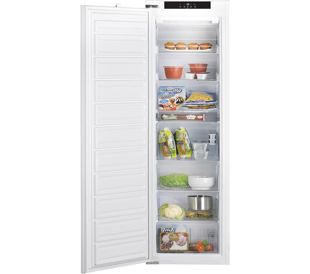 Compare prices for Hoover HF 1801 E F AA.UK Integrated Tall Freezer