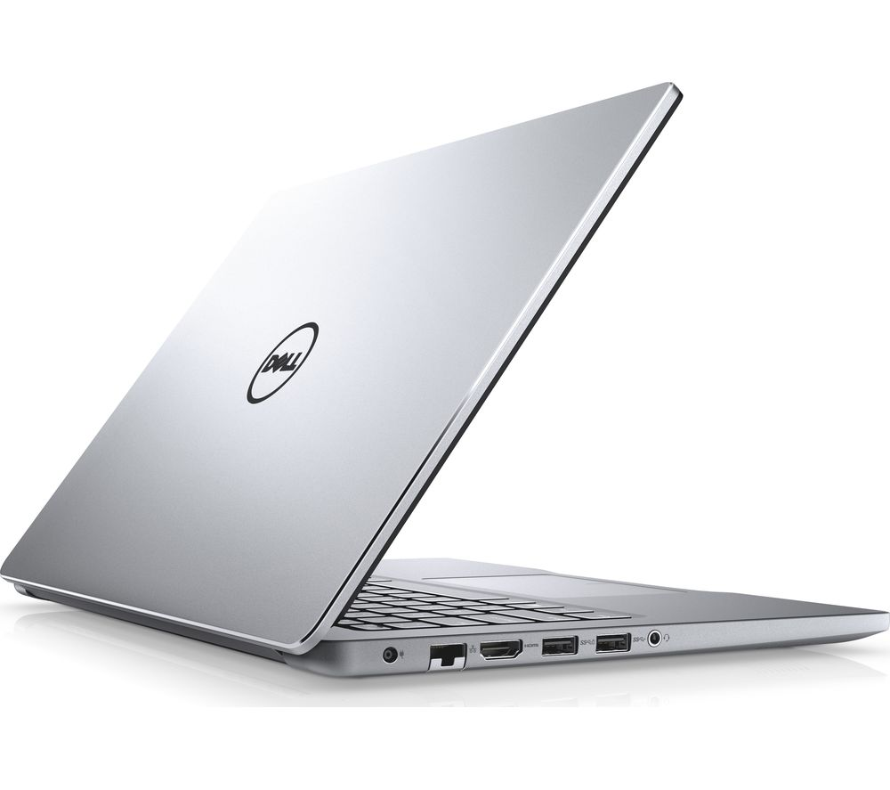 "DELL Inspiron 15 7000 15.6"" Laptop - Silver + Office 365 Home - 1 year for 5 users + LiveSafe Premium - 1 user / unlimited devices for 1 year"