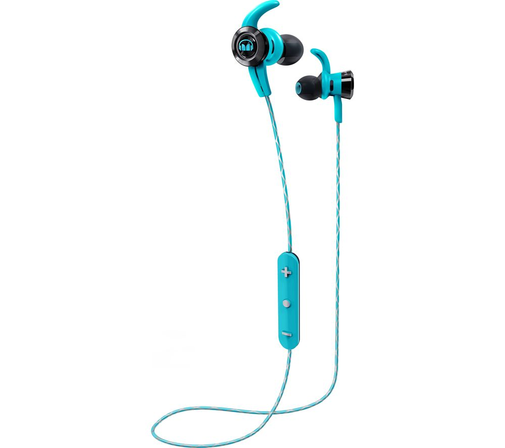 monster isport victory in ear wireless bluetooth headphones blue deals pc world. Black Bedroom Furniture Sets. Home Design Ideas