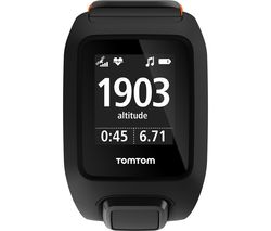 TOMTOM Adventurer HR Music GPS Multi-Sports Watch - Black, Universal