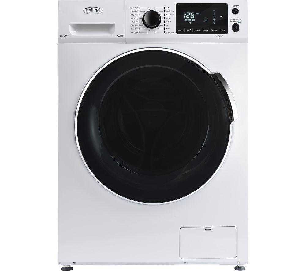 Compare prices for Belling BEL FW814 WHI Washing Machine