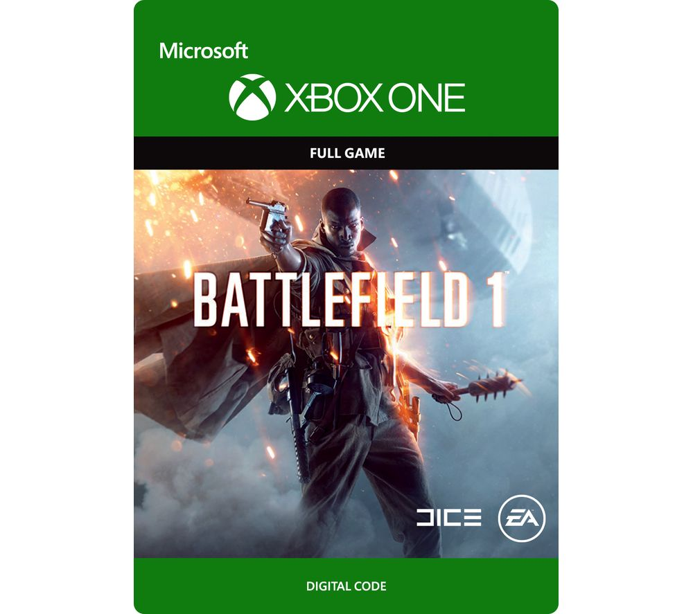 buy microsoft xbox one battlefield 1 free delivery currys. Black Bedroom Furniture Sets. Home Design Ideas