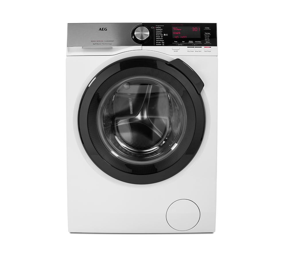 AEG SoftWater L9FSC949R Washing Machine - White