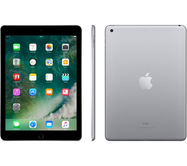 Buy APPLE 97 iPad 32 GB Space Grey Free Delivery Currys