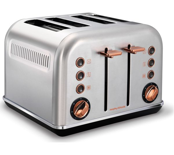 Slicwe Morphy Richards Toaster 4: Buy MORPHY RICHARDS Accents 242105 4-Slice Toaster